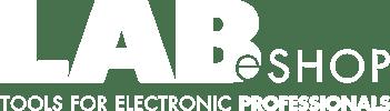 The Lab eShop logo white